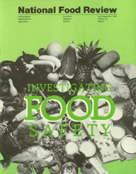 National Food Review July-September 1989 Volume July-September 1989 by Morrison, Rosanna Mentzer