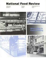 National Food Review : October-December ... Volume October-December 1990 by Morrison, Rosanna Mentzer
