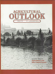 Agricultural Outlook : Special Reprint F... Volume Issue Special Reprint February 1992 by Usda