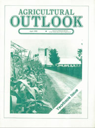 Agricultural Outlook : Yearbook Issue Ap... Volume Issue April 1990 by Usda