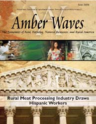 Amber Waves : Rural Meat Processing Indu... Volume 6-Jun by Usda- Economic Research Service