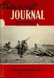 Antiaircraft Journal : January-February ... Volume 92, Issue 1 by Brady, Colonel W. I.