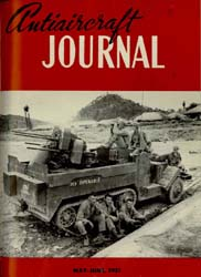 Antiaircraft Journal : May-June 1951 Volume 94, Issue 3 by Brady, Colonel W. I.