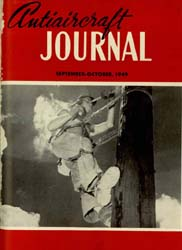 Antiaircraft Journal : September-October... Volume 92, Issue 5 by Brady, Colonel W. I.