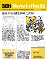 National Institutes of Health (Nih) News... Volume April 2008 ; When a Medical Emergency Strikes by Wein, Harrison