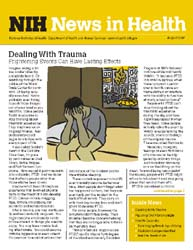 National Institutes of Health (Nih) News... Volume August 2007 ; Dealing with Trauma by Wein, Harrison