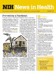 National Institutes of Health (Nih) News... Volume December 2006 ; Preventing a Pandemic by Wein, Harrison