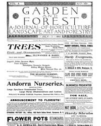 Garden and Forest Volume 10 Issue 489 Ju... by Charles S; Sargent