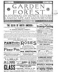 Garden and Forest Volume 3 Issue 145 Dec... by Charles S; Sargent