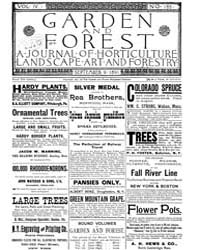 Garden and Forest Volume 4 Issue 185 Sep... by Charles S; Sargent