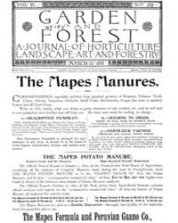 Garden and Forest Volume 6 Issue 265 Mar... by Charles S; Sargent
