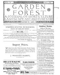 Garden and Forest Volume 6 Issue 278 Jun... by Charles S; Sargent