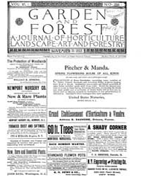Garden and Forest Volume 6 Issue 299 Nov... by Charles S; Sargent