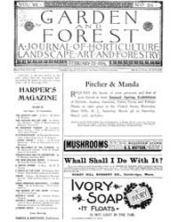 Garden and Forest Volume 7 Issue 314 Feb... by Charles S; Sargent