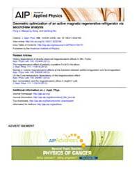 Journal of Applied Physics : Geometric o... Volume Issue : November 2008 by Peng Li, Maoqiong Gong, and Jianfeng Wu