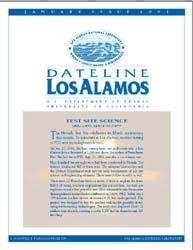 Dateline : Los Alamos; January 2001 Volume January 2001 by Coonley, Meredith
