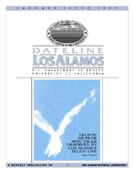 Dateline : Los Alamos; January 1999 Volume January 1999 by Coonley, Meredith