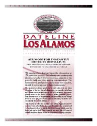 Dateline : Los Alamos; February 2000 Volume February 2000 by Coonley, Meredith