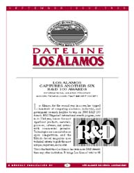 Dateline : Los Alamos; September 1995 Volume September 1995 by Coonley, Meredith