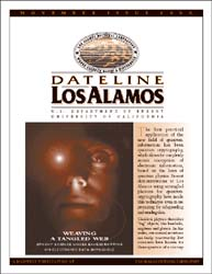 Dateline : Los Alamos; November 2000 Volume November 2000 by Coonley, Meredith