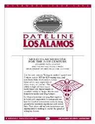 Dateline : Los Alamos; November 1995 Volume November 1995 by Coonley, Meredith