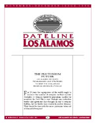Dateline : Los Alamos; November-December... Volume November-December 1996 by Coonley, Meredith
