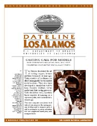 Dateline : Los Alamos; November-December... Volume November-December 1998 by Coonley, Meredith