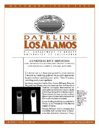 Dateline : Los Alamos; November 1999 Volume November 1999 by Coonley, Meredith
