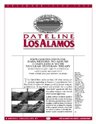 Dateline : Los Alamos; December 1995 Volume December 1995 by Coonley, Meredith