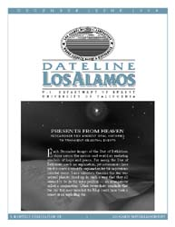 Dateline : Los Alamos; December 1999 Volume December 1999 by Coonley, Meredith