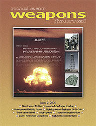Nuclear Weapons Journal (Nwj); Issue 2; ... Volume Issue 2; 2005 by Burgess, Margaret
