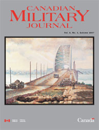 Canadian Military Journal; Autumn 2007 Volume 8, Issue 3 by Bashow, Dave