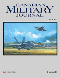 Canadian Military Journal; Spring 2008 Volume 9, Issue 1 by Bashow, Dave