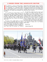 Canadian Military Journal; Winter 2009 Volume 10, Issue 4 by Bashow, Dave