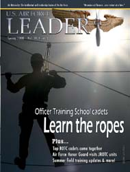 U.S. Air Force Leader : Spring 2008 Volume Spring 2008 by Mccain, John