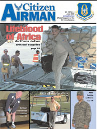 Citizen Airman Magazine; June 2006 Volume 58, Issue 3 by Tyler, Cliff