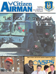 Citizen Airman Magazine; August 2006 Volume 58, Issue 4 by Tyler, Cliff