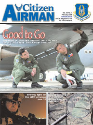 Citizen Airman Magazine; February 2008 Volume 60, Issue 1 by Tyler, Cliff