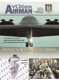 Citizen Airman Magazine; February 2010 Volume 62, Issue 1 by Tyler, Cliff