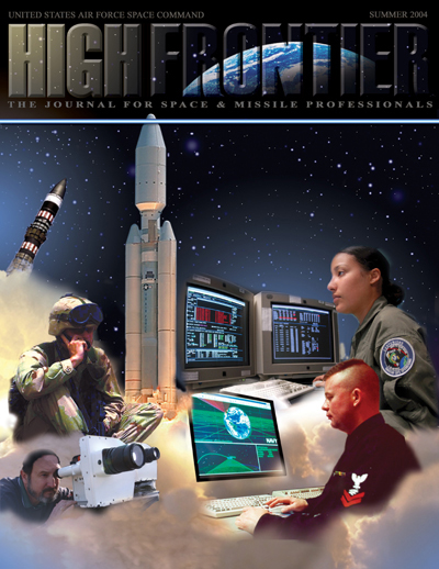 High Frontier Journal : Space Profession... by Adams, Lt. Col Marcella
