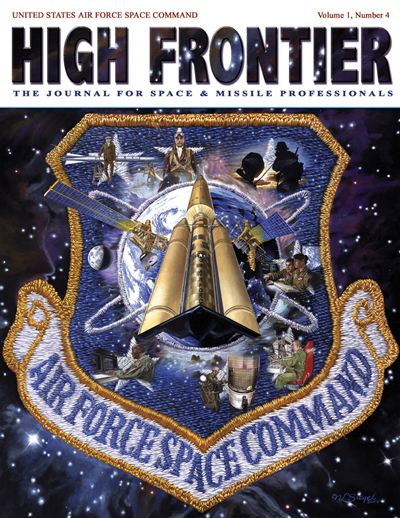 High Frontier Journal : Space Warfightin... by Adams, Lt. Col Marcella