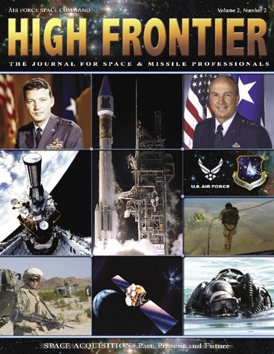 High Frontier Journal : Space Acquisitio... by Adams, Lt. Col Marcella