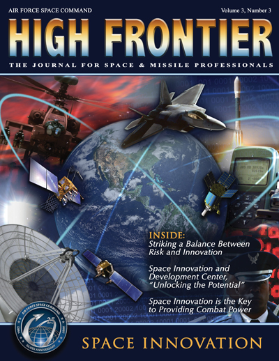 High Frontier Journal : Space Innovation... by Adams, Lt. Col Marcella