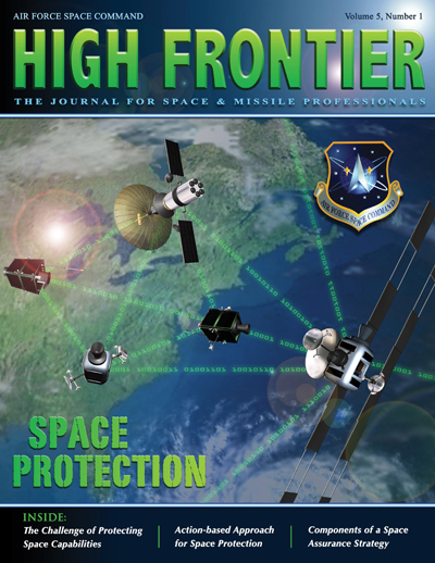 High Frontier Journal : Space Protection... by Adams, Lt. Col Marcella