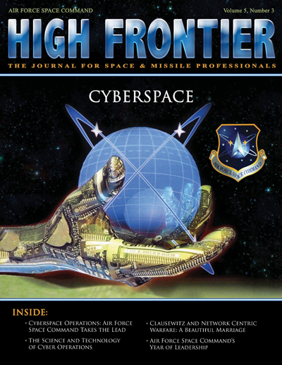 High Frontier Journal : Cyberspace; Volu... by Adams, Lt. Col Marcella