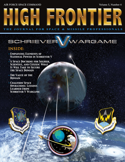 High Frontier Journal : Schriever V Warg... by Adams, Lt. Col Marcella