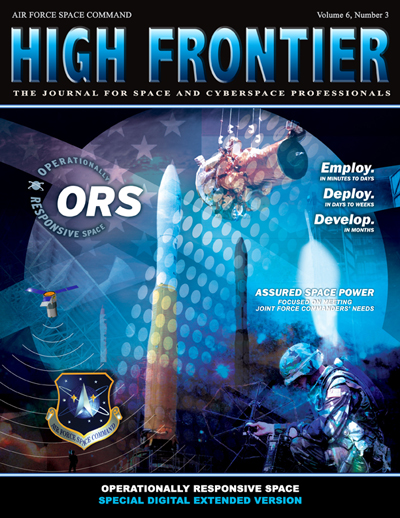 High Frontier Journal : Ors; Volume 6, I... by Adams, Lt. Col Marcella