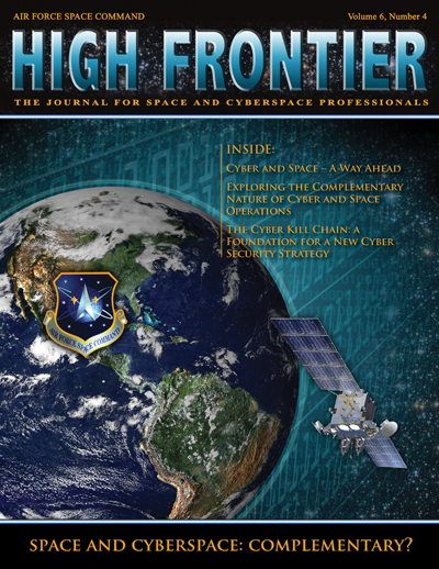 High Frontier Journal : Space and Cyber;... by Adams, Lt. Col Marcella