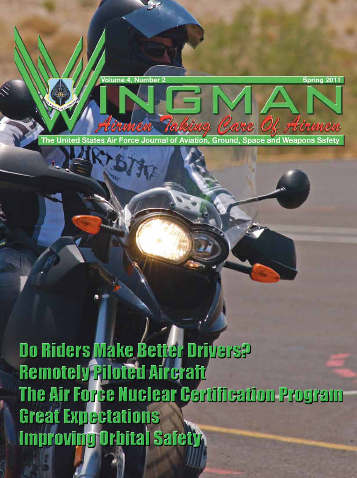 Wingman Magazine : Volume 4, Issue 2 ; S... by Greetan, Thomas
