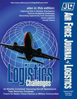 Air Force Journal of Logistics : 2007 Volume 32, Issue 3 by Rainey, James C.